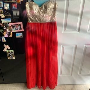 Sheer Dress With Sequin Too